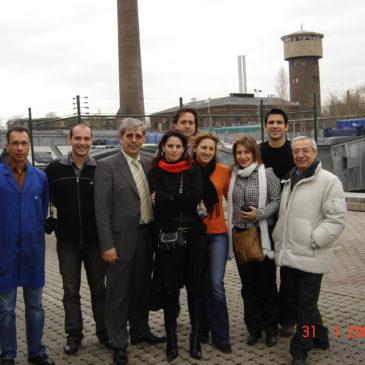 Επίσκεψη των νέων δημοτικών συμβούλων από Ελλάδα, στη Φραγκφούρτη