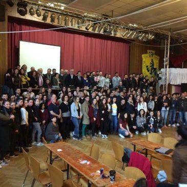 Με μεγάλη επιτυχία πραγματοποιήθηκε στις 18/19 Μαρτίου 2017, στη Φρανκφούρτη, η 22η Πανευρωπαϊκή Συνδιάσκεψη Ποντιακής Νεολαίας της Ομοσπονδίας Ελλήνων Ποντίων στην Ευρώπη.