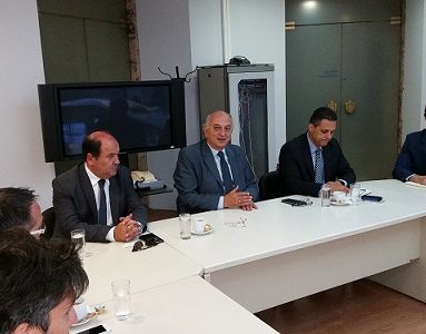 Συνάντηση Υφυπουργού Εξωτερικών, Γ. Αμανατίδη με αντιπροσωπεία της Παγκόσμιας Διακοινοβουλευτικής Ένωσης Ελληνισμού (ΠΑ.ΔΕ.Ε)