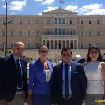 Η Παγκόσμια Συντονιστική Επιτροπή Ποντιακής Νεολαίας στη Γενική Γραμματεία Απόδημου Ελληνισμού