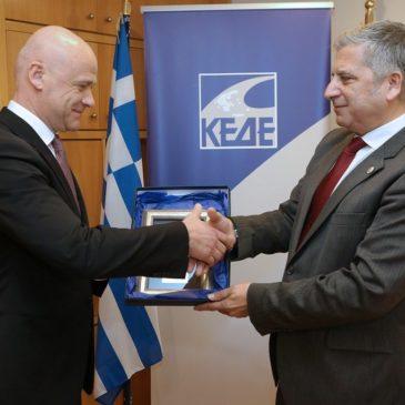Συνάντηση του Προέδρου της ΚΕΔΕ Γ. Πατούλη με τον Δήμαρχο Οδησσού Gennadiy Trukhanov