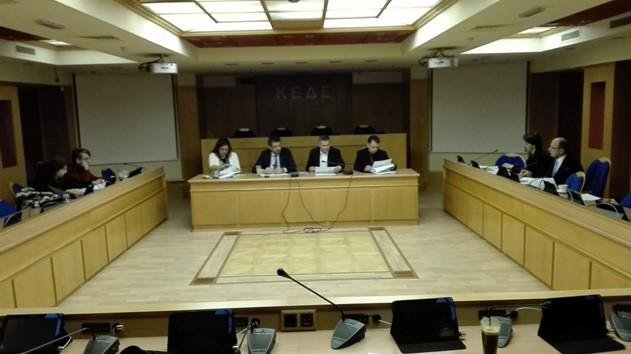 Πραγματοποιήθηκε η  5η Συνεδρίαση Εκτελεστικής Γραμματείας του Δικτύου Ελλήνων Αιρετών Αυτοδιοίκησης της Ευρώπης