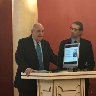Δηλώσεις του Υφυπουργού Εξωτερικών Τέρενς Κουίκ στα γραφεία της Ελληνικής Κοινότητας Βίλνιους