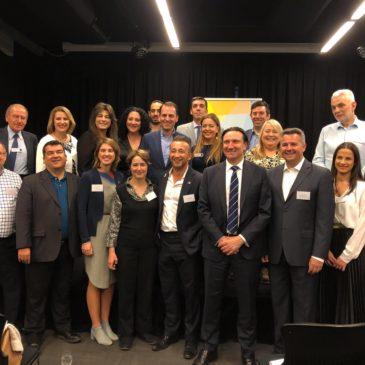 Ο Αντιπρόεδρος του Δικτύου, συναντήθηκε με ελληνικής καταγωγής αιρετούς της Αυτοδιοίκησης, στη Βικτώρια της Αυστραλίας