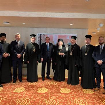 Επίσκεψη του Οικουμενικού Πατριάρχη Βαρθολομαίου στη Σουηδία