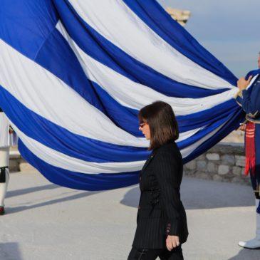 Μήνυμα της Προέδρου της Δημοκρατίας Κατερίνας Σακελλαροπούλου προς τον απόδημο ελληνισμό με την ευκαιρία της εθνικής εορτής της 25ης Μαρτίου