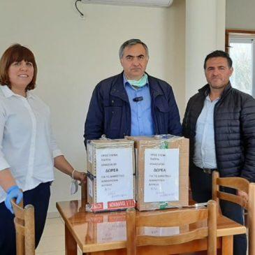 Δωρεά ιατροφαρμακευτικού Υλικού στο  Δήμο Φοινικαίων